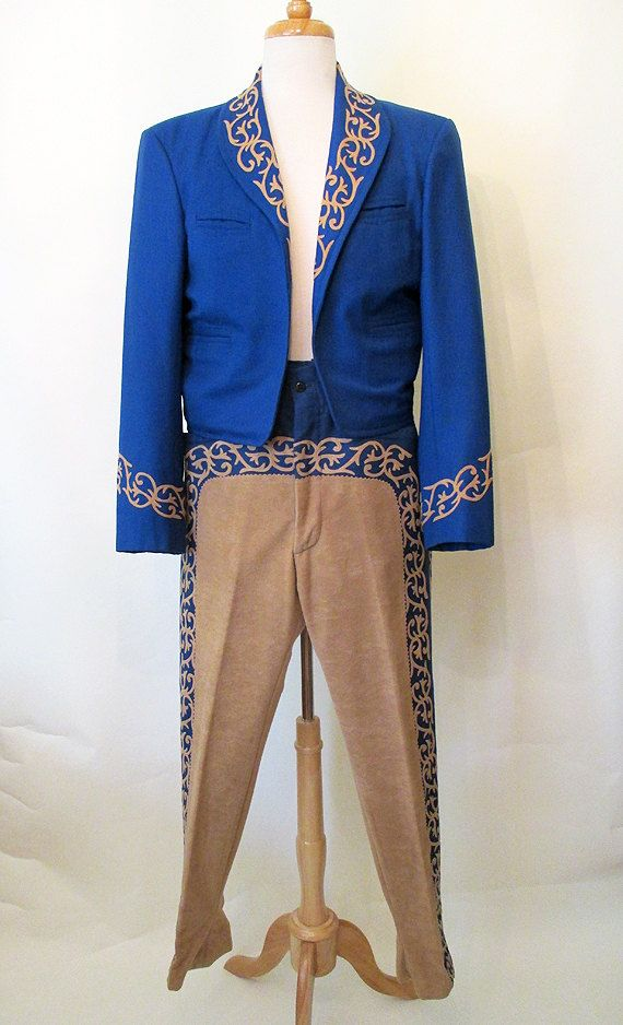 Very Cool 1950's/1960's M//L Mariachi Suit by LoungeActVintage