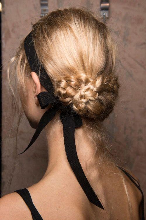 braided + ribbon