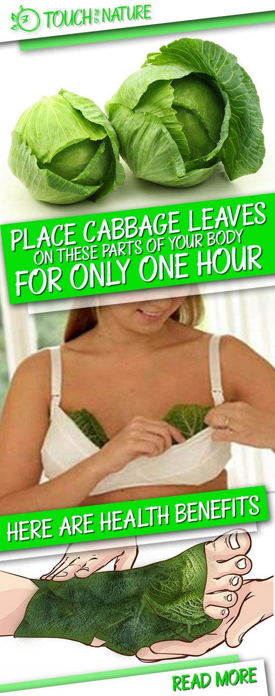 Place Cabbage on Your Chest, Legs, or Neck for One Hour and Get These Health Benefits – Touch Of The Nature