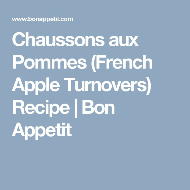 ideas about Apple Turnover Recipe on Pinterest | Mini Apple Turnovers ...
