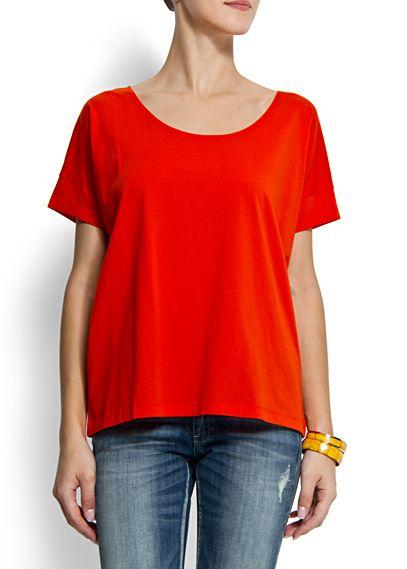 @MANGO (MANGO outlet) maglietta BCD milupa