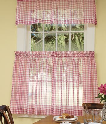 17 best images about gingham kitchen on pinterest - Cortinas de cocinas modernas ...