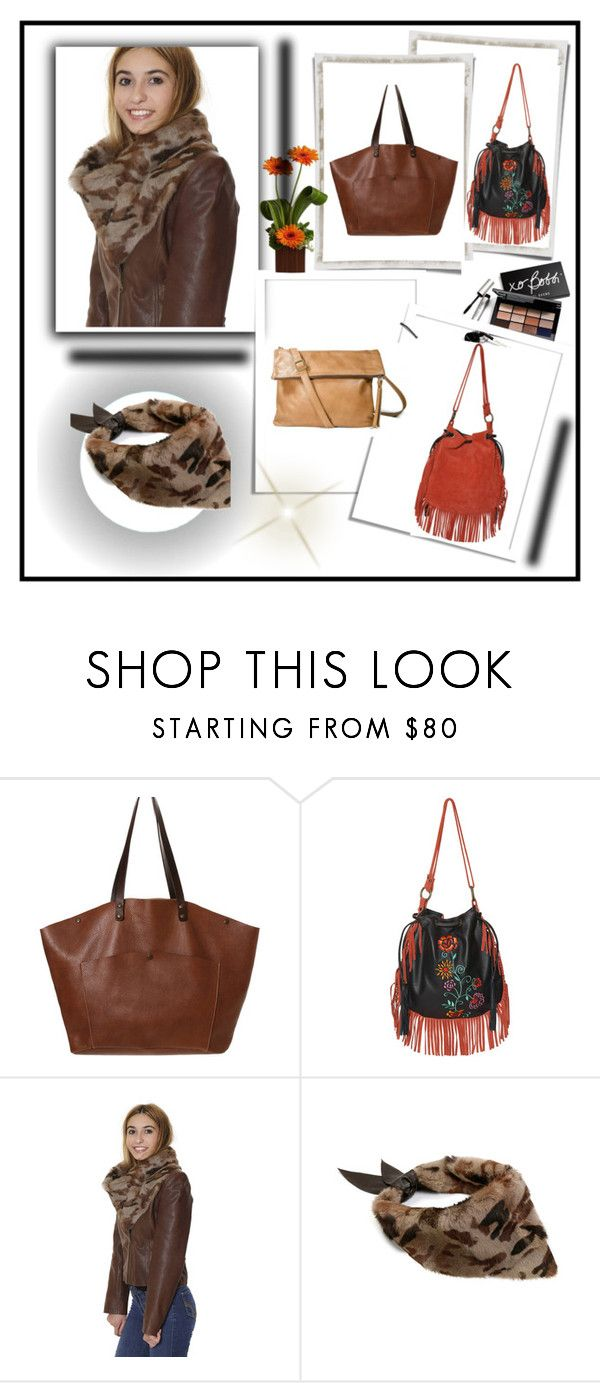 """""""Leather bags & accesories handmade in Barcelona, Spain"""" by lejla150 ❤ liked on Polyvore featuring Bobbi Brown Cosmetics"""