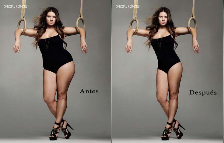 Tutorial Photoshop Español - Adelgazar unos kilos