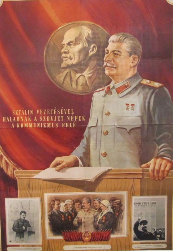 Anon, Stalin placard
