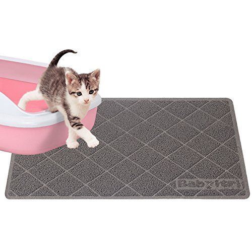FAREWELL TO THE TROUBLES OF CAT LITTER: Different From Other Small Cat  Mats, Our