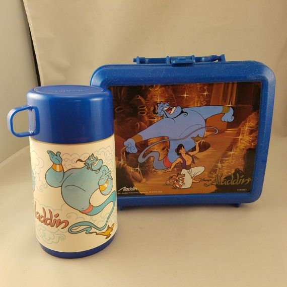 Hey, I found this really awesome Etsy listing at https://www.etsy.com/listing/473488666/vintage-disney-aladdin-lunchbox-and
