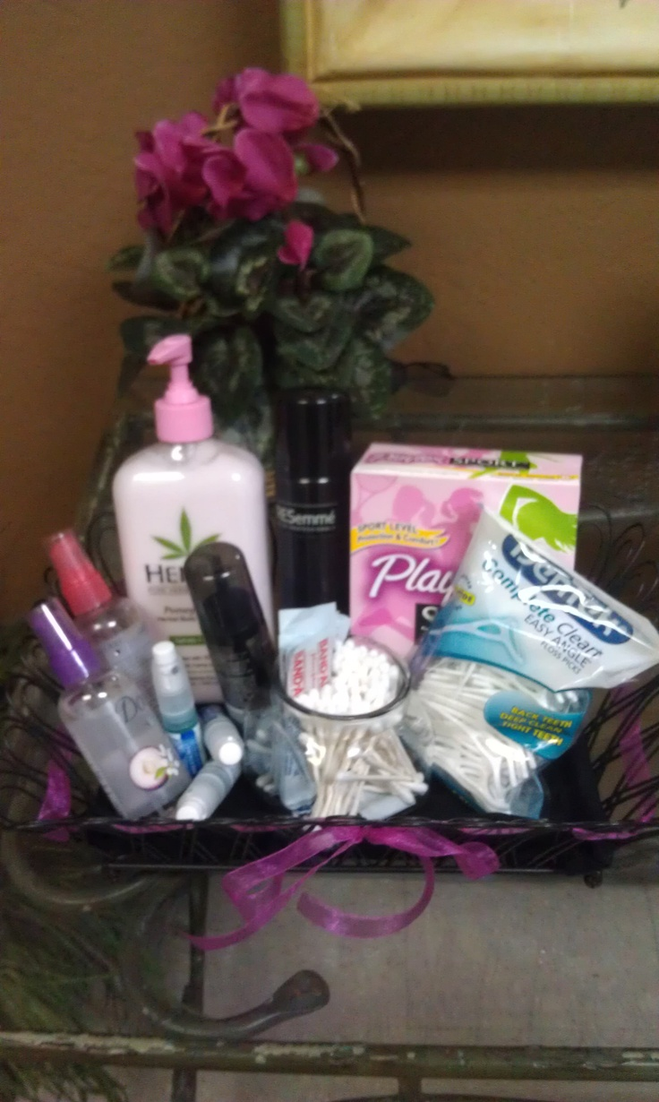Bathroom Baskets Wedding Hospitality Basket