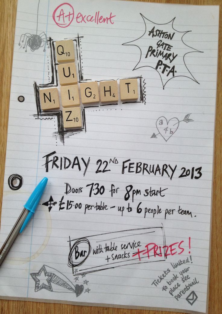 12 best images about quiz night on pinterest