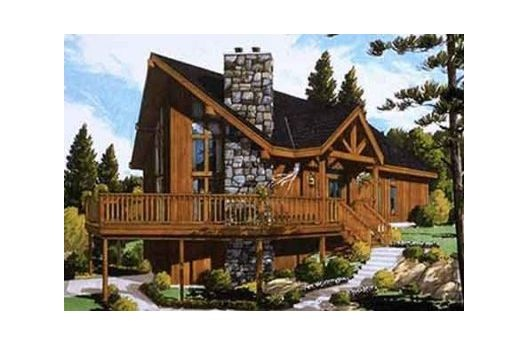 Walk Out Basement Log Cabin Dream House Sims 3 Pinterest House Plans