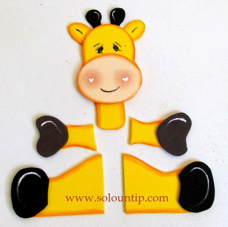 Manualidades por día del niño en goma eva | Solountip.com