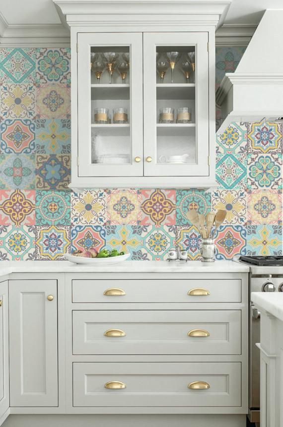 Vinyl Decal Self Adhesive Portuguese Sticker Tiles