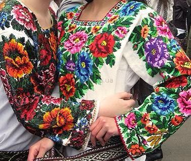 Traditional Ukrainian blouse - vyshivanka.