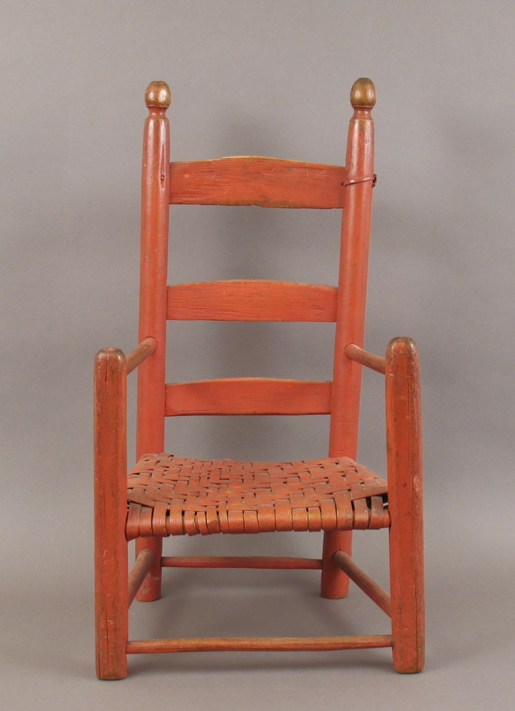 17 Best Images About Primitive Little Chairs On Pinterest