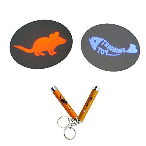 1 pcs Cat Catch the Interactive LED Light Pointer by SolarFusion