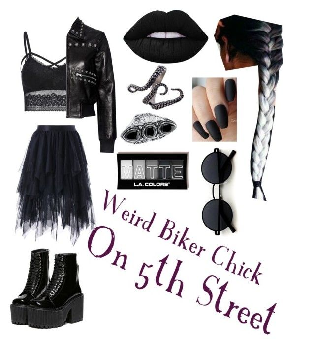 Weird Biker Chick