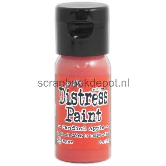 Tim Holtz Distress Flip Top Paints Candied Apple