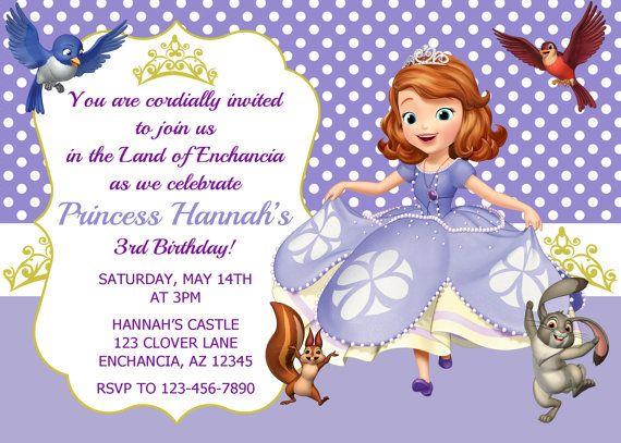 Princess Party Invitation is luxury invitation sample
