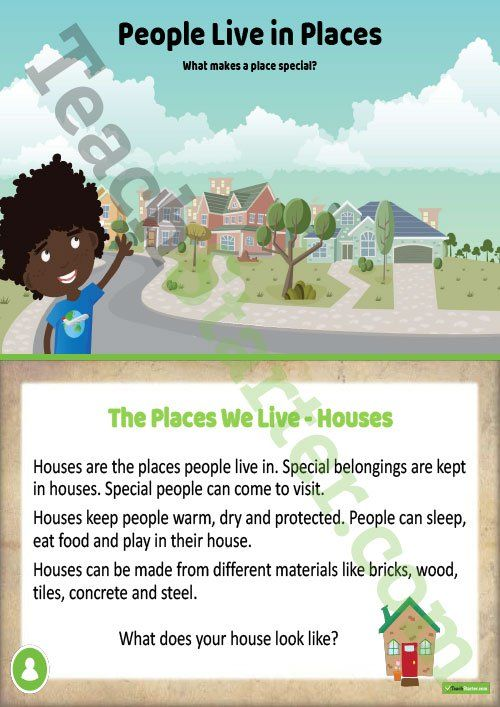 Teaching Resource: A 21 slide editable PowerPoint template introducing students to investigating the places people live in and belong to.