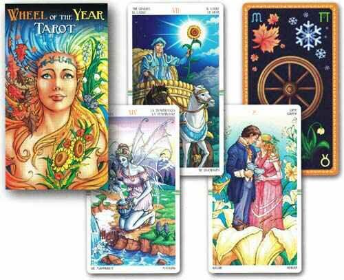 Wheel Of The Year Tarot - $37.00 www.newagecave.com
