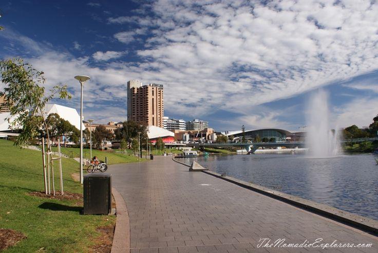 Torrens River, Adelaide   TheNomadicExplorers.com