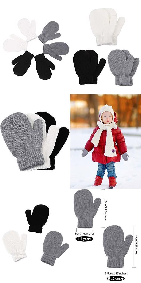 SATINIOR 12 Pack Kids Winter Beanie Hats Warm Stretch Knit Beanies for Boys and Girls