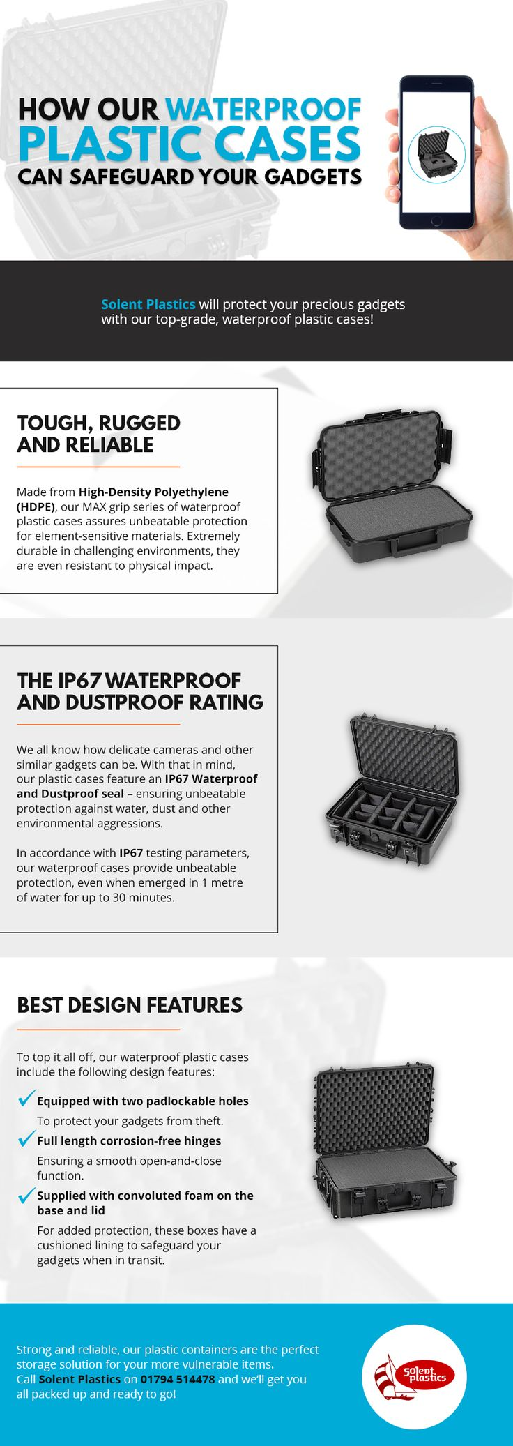 How Our Waterproof Plastic Cases Can Safeguard Your Gadgets...