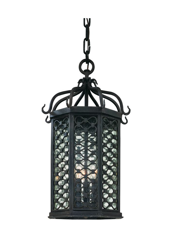 58 best traditional outdoor hanging lights images on pinterest los olivos hand forged iron exterior 3 light medium ceiling mount hanger f2377oi aloadofball Images