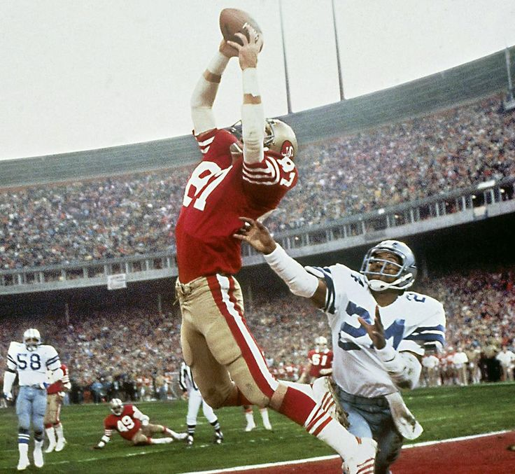 "On Jan. 10, 1982, one of the most famous plays in NFL history, Dwight Clark's leaping, fingertip touchdown grab of a Joe Montana pass—forever known as ""The Catch""—gave the 49ers a 28-27 lead over the Cowboys with just 51 seconds on the clock in the..."