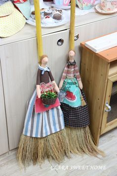 Preparar Broom muñecas tilde (Clara jeongjinhui decisiones, acolchar, muñeca)