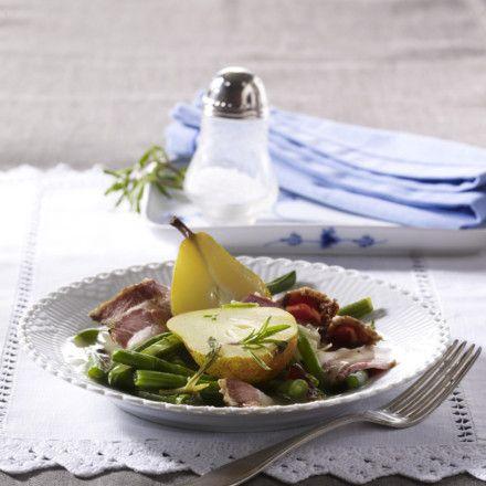 Birnen, Bohnen & Speck Rezept