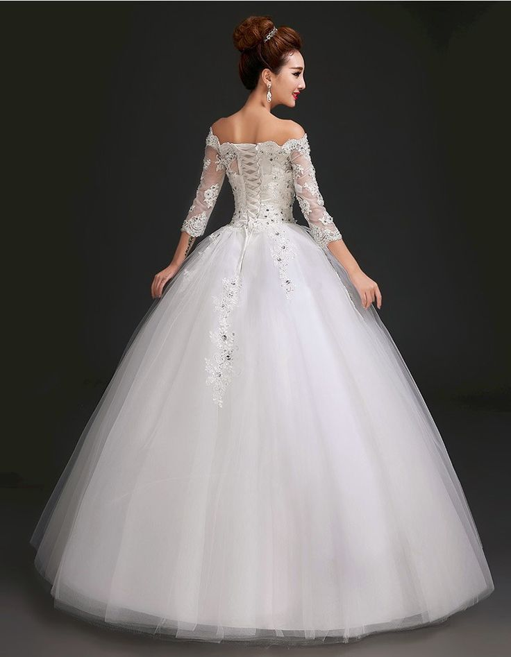 Asos asymmetrical lace wedding dress loose boat neck easy