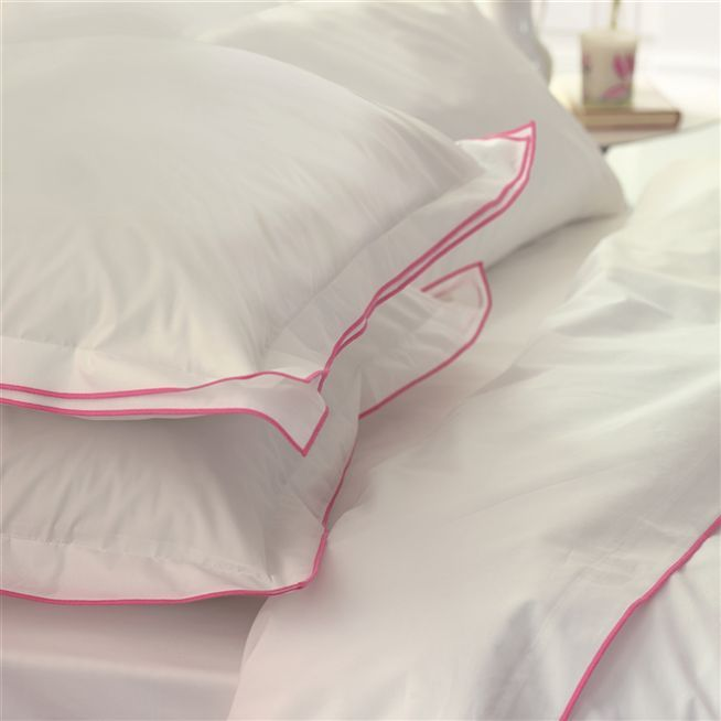 Bed linen from from Designers Guild.