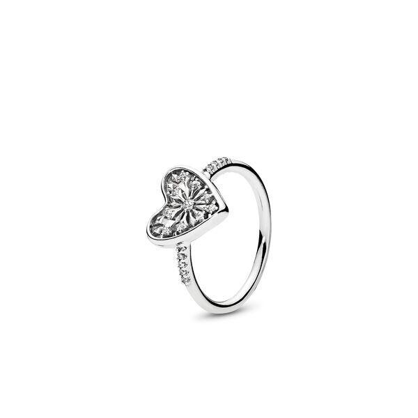 anello pandora cuore argento