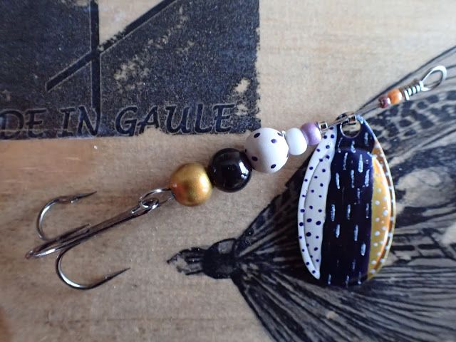 """Truite Dundee - made in Gaule: Cuiller """"Thesaumon-11"""""""