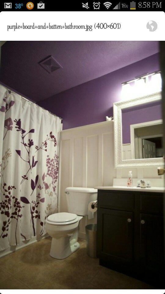 Bathroom Decorating Ideas With Purple 29 best purple images on pinterest