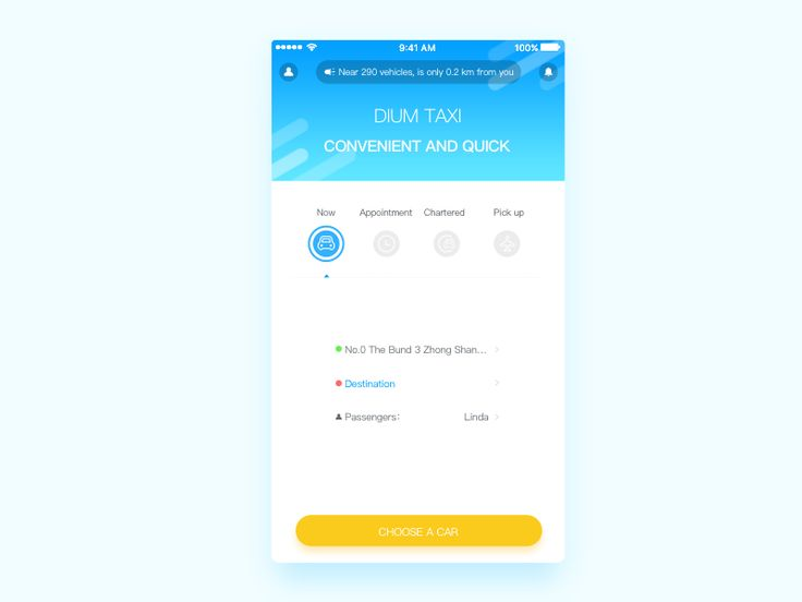 The taxi App