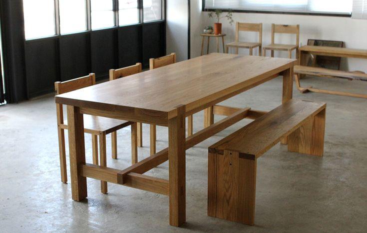 울산 하드우드 수제가구 공방 woodlab.co.kr  화이트오크 식탁, 원목테이블