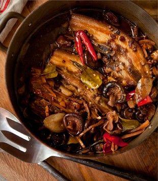 Slow cooked schezuan pork ribs. Sweet. Spicy. Moreish. OMG.