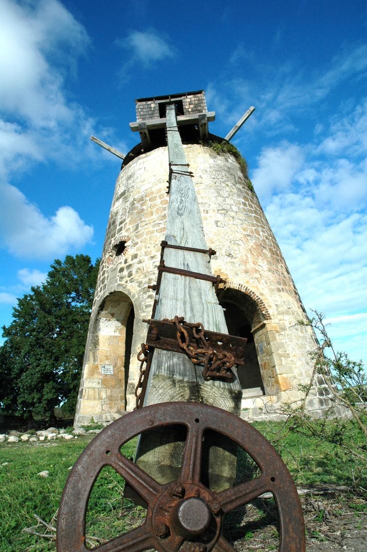 Sugar Mill, Antigua photo by Sharon Wood