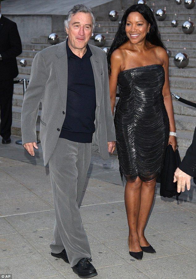 Robert De Niro and Grace Hightower.