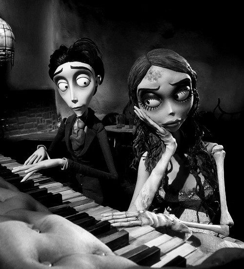 Corpse bride, was watching this this morning with my 2 girls.