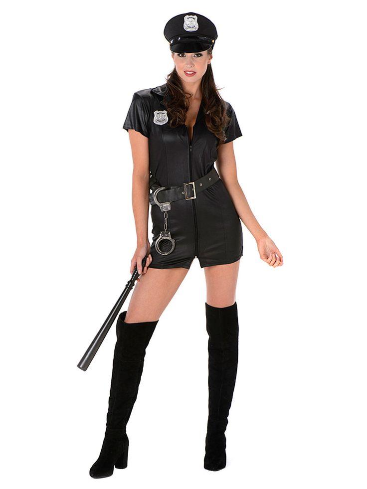 Sexy Polizistin Damenkostüm Politesse schwarz , günstige Faschings  Kostüme bei Karneval Megastore, der größte Karneval und Faschings Kostüm- und Partyartikel Online Shop Europas!