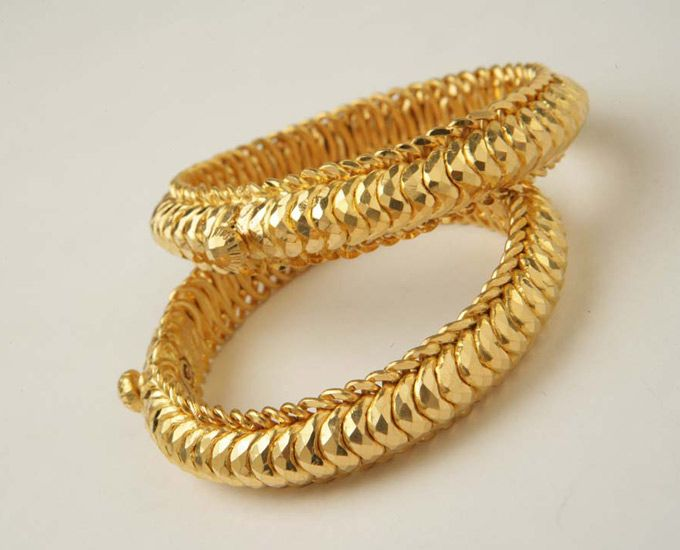 bangles - indian vintage jewellery...these were part of the bangles I wore on my wedding day..exact design!