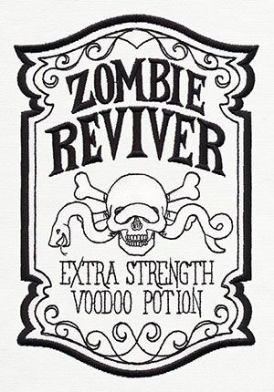 ApotheScary - Zombie Reviver design (UT8624) from UrbanThreads.com