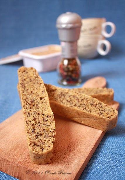 Pocak Panna paleo konyhája: Elkezdődött a suli, hajrá egészséges reggelik: Szezámos Biscotti (paleo)