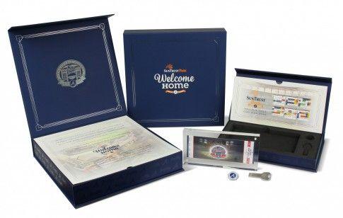 Atlanta Braves Inaugural Season Ticket Box