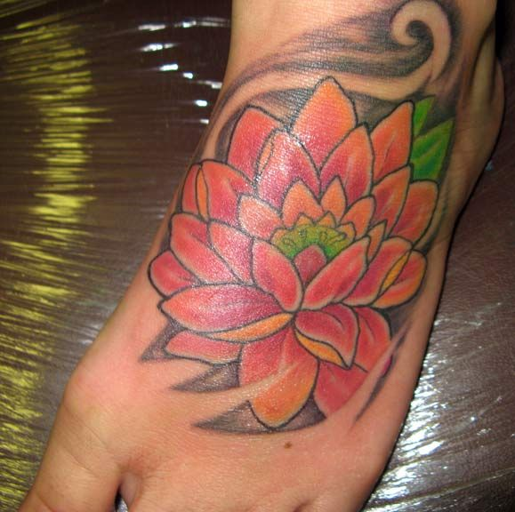 422 best images about foot tattoos on pinterest west for Lotus flower bomb tattoo