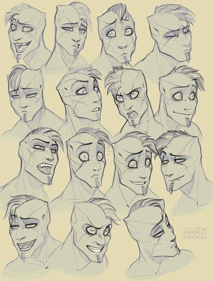 Men drawing facial expressions black ass
