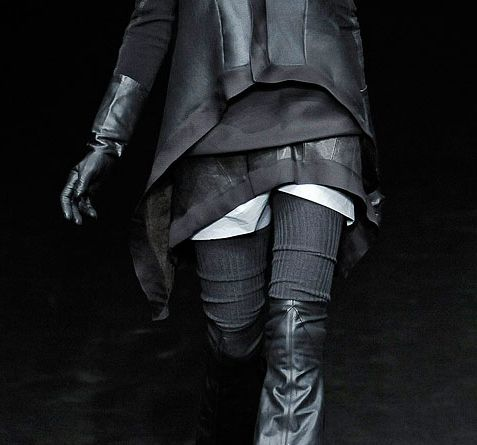 "Details from Rick Owens FW09 ""Crust"""
